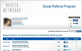 Social Referral portals